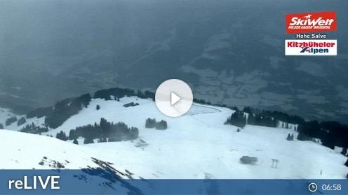 Hopfgarten im Brixental – Gipfel Hohe Salve webcam Live