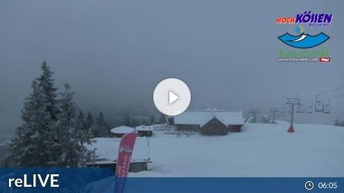Kössen – Unterberghorn webcam Live