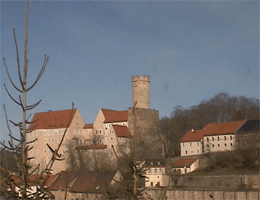 Kohren-Sahlis – Burg Gnandstein webcam Live