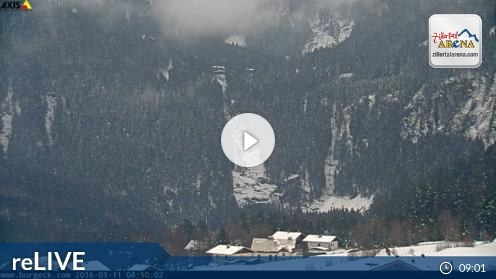 Krimml – Krimmler Wasserfälle webcam Live