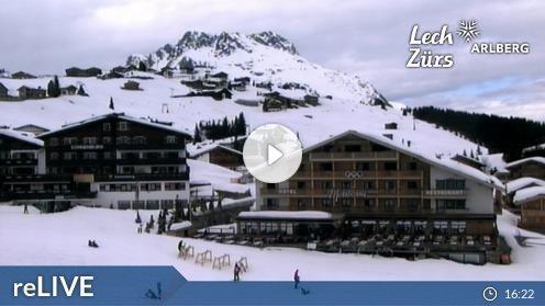Lech Zürs am Arlberg – Oberlech webcam Live