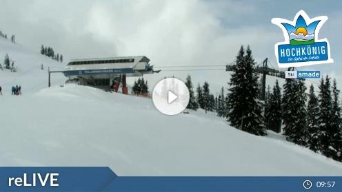 Mühlbach am Hochkönig – Bergstation Fellersbachalm webcam Live