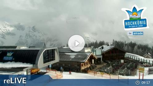 Maria Alm – Bergstation Hochmais webcam Live