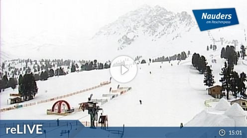 Nauders – Bergstation Bergkastelseilbahn webcam Live