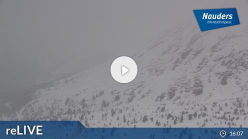Nauders – Bergstation Zirmbahn webcam Live