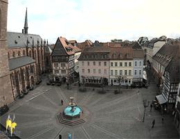 Neustadt an der Weinstraße – Marktplatz webcam Live