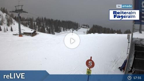Pichl-Preunegg – Reiteralm Bergstation Preunegg Jet webcam Live