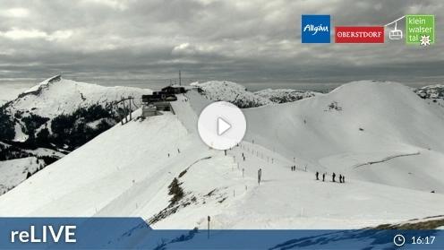 Riezlern / Kleinwalsertal – Kanzelwand/Fellhorn webcam Live