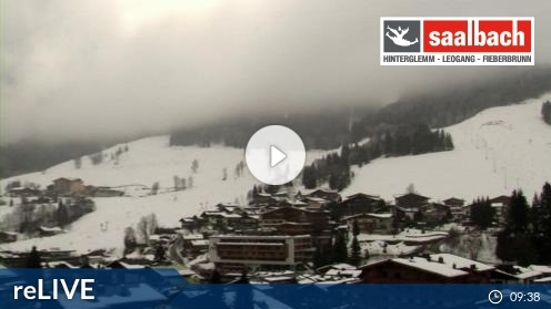 Saalbach – Hinterglemm Tal webcam Live