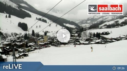 Saalbach – Kohlmais Tal webcam Live