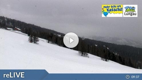 Sankt Margarethen im Lungau – Aineck Mittelstation webcam Live