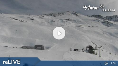 St. Anton am Arlberg – Rendl webcam Live