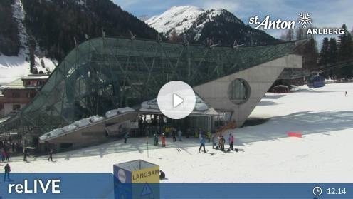 St. Anton am Arlberg – Skicenter webcam Live