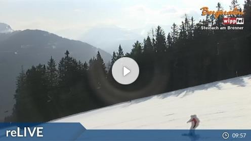 Steinach am Brenner – Bergeralm, Steinboden webcam Live