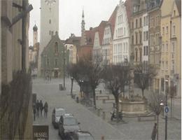 Straubing – Blick auf den Stadtturm von Straubinger Tagblatt webcam Live