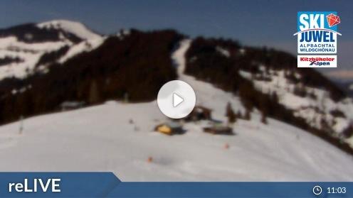 Wildschönau – Markbachjoch 1 webcam Live