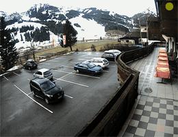 Zöblen – Tannheimer Tal Blick vom Gasthof Alpenrose webcam Live
