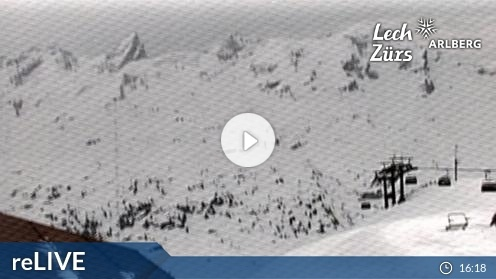 Zürs am Arlberg – Zürs Seekopf webcam Live