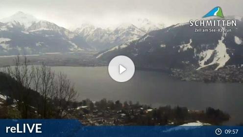 Zell am See – Blick auf Zell am See webcam Live