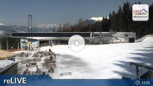 Zell am Ziller – Karspitzbahn Mittelstation webcam Live