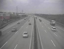 A02Süd Autobahn – Blickrichtung Wien Km 10,14 Webcam Live