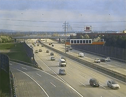 A02 Süd Autobahn Blickrichtung Graz – Km 8,90 Webcam Live
