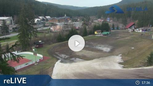 Skigebiet Bílá – Panorama webcam Live