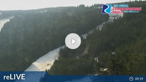 Bělá pod Pradědem – Skigebiet Červenohorské sedlo webcam Live