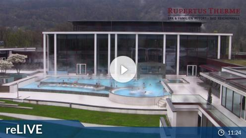 Bad Reichenhall – Spa & Fitness Resort Rupertus Therme webcam Live