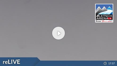 Fiesch – Bergstation Eggishorn webcam Live