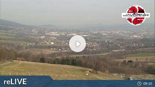 Jeřmanice – Obří sud Javorník webcam Live