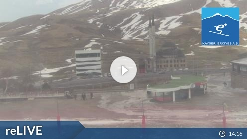 Kayseri – Skigebiete Erciyes Webcam Live