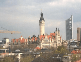 Leipzig – Skyline Webcam Live