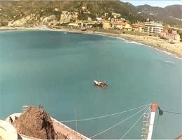 Levanto – Blick von Villa la Pietra Webcam Live