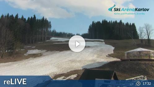Malá Morávka – Skigebiet Karlov webcam Live