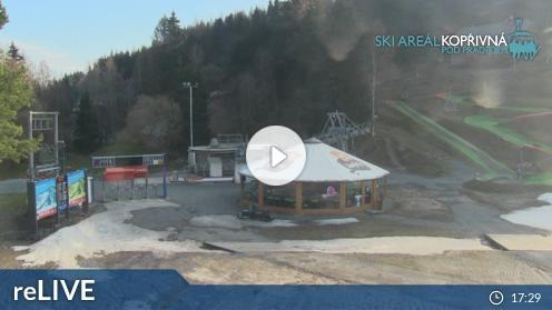 Malá Morávka – Skigebiet Kopřivná webcam Live