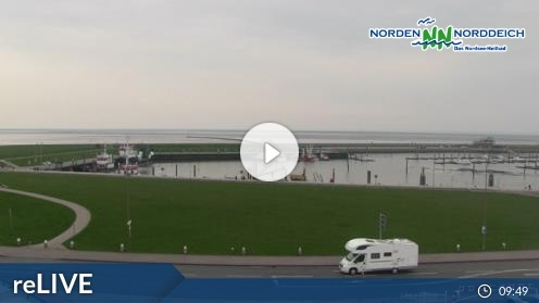 Norddeich – Hafenstraße Webcam Live