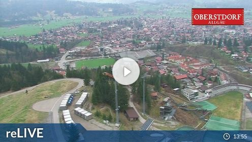 Oberstdorf – Panorama Webcam Live