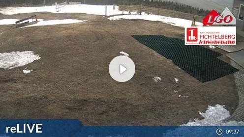Oberwiesenthal – Blick auf die Abfahrt Himmelsleiter Webcam Live