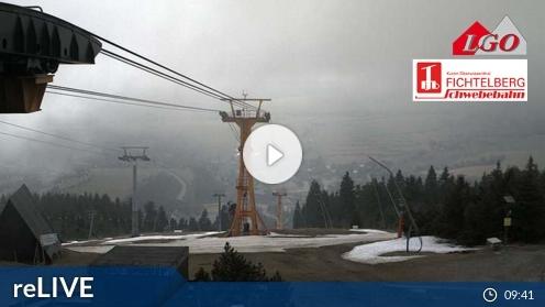 Oberwiesenthal – Blick nach Oberwiesenthal Webcam Live