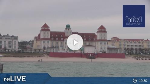 Ostseebad Binz – Seebrücke Binz Webcam Live