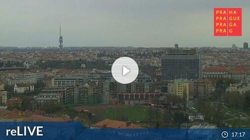 Prag-Praha – Kavčí hory webcam Live