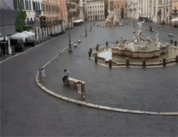 Rom – Piazza Navona, Neptunbrunnen Webcam Live