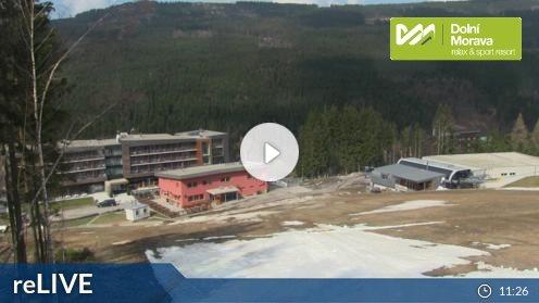 Skigebiet Dolní Morava webcam Live