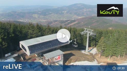 Skigebiet Kouty nad Desnou webcam Live