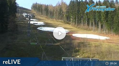 Skigebiet Přemyslov webcam Live