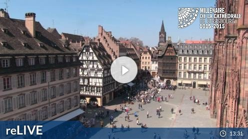 Straßburg – Straßburger Münster Webcam Live