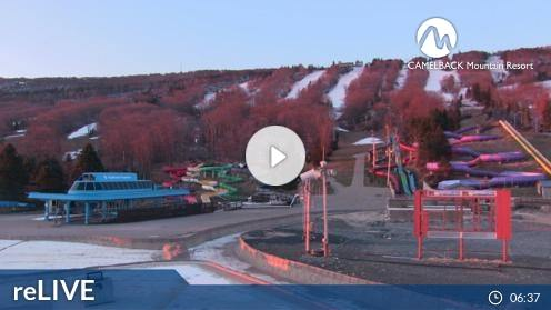 Tannersville – Camelback Mountain Resort Webcam Live