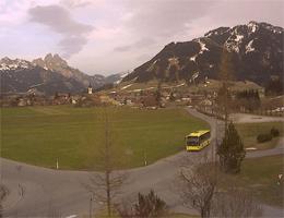 Tannheim – Richtung Osten / Gimpel, Rot-Flüh, Neunerköpfle webcam Live