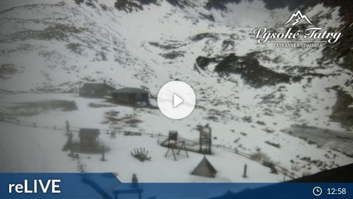 Tatranska Lomnica – Skalnate Pleso Webcam Live